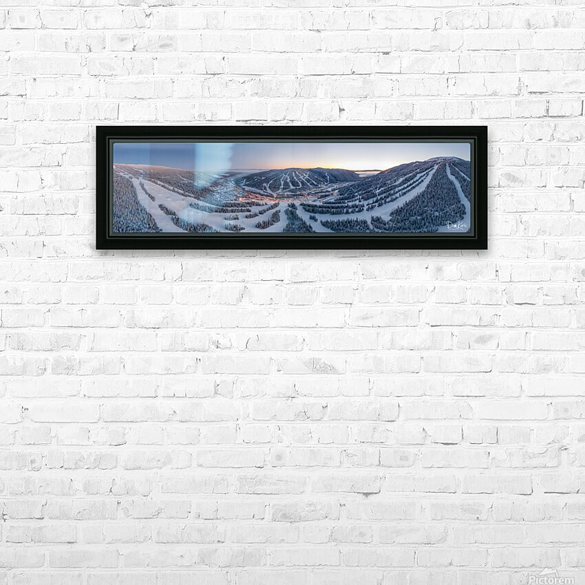 Mo South Wide HD Sublimation Metal print with Decorating Float Frame (BOX)