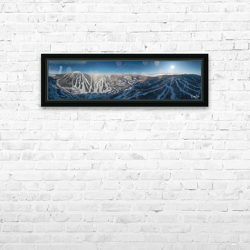 You Are Here HD Sublimation Metal print with Decorating Float Frame (BOX)