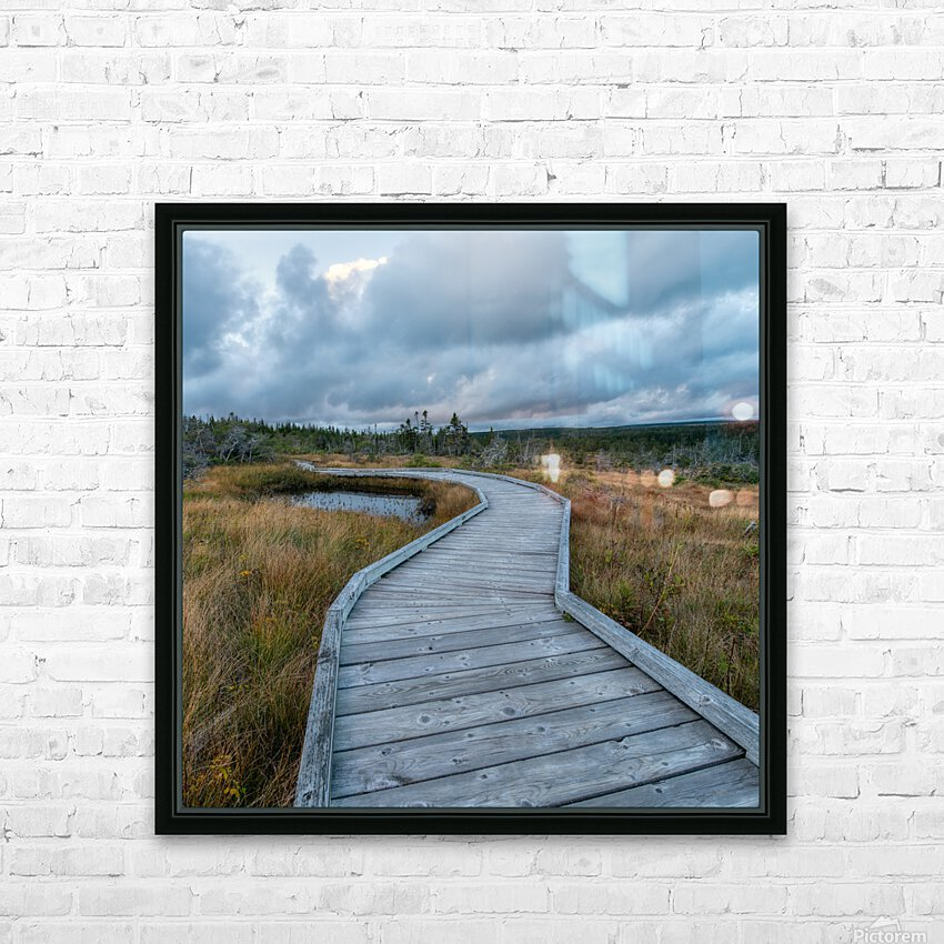 Autumn Walk - 2 HD Sublimation Metal print with Decorating Float Frame (BOX)