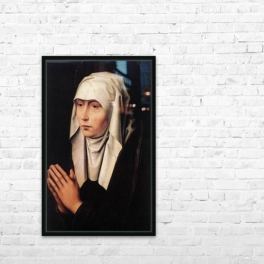 Mater Dolorosa HD Sublimation Metal print with Decorating Float Frame (BOX)