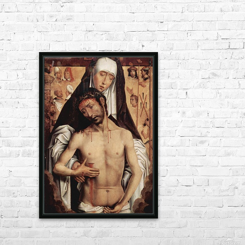 Mater Dolorosa, 1475 HD Sublimation Metal print with Decorating Float Frame (BOX)