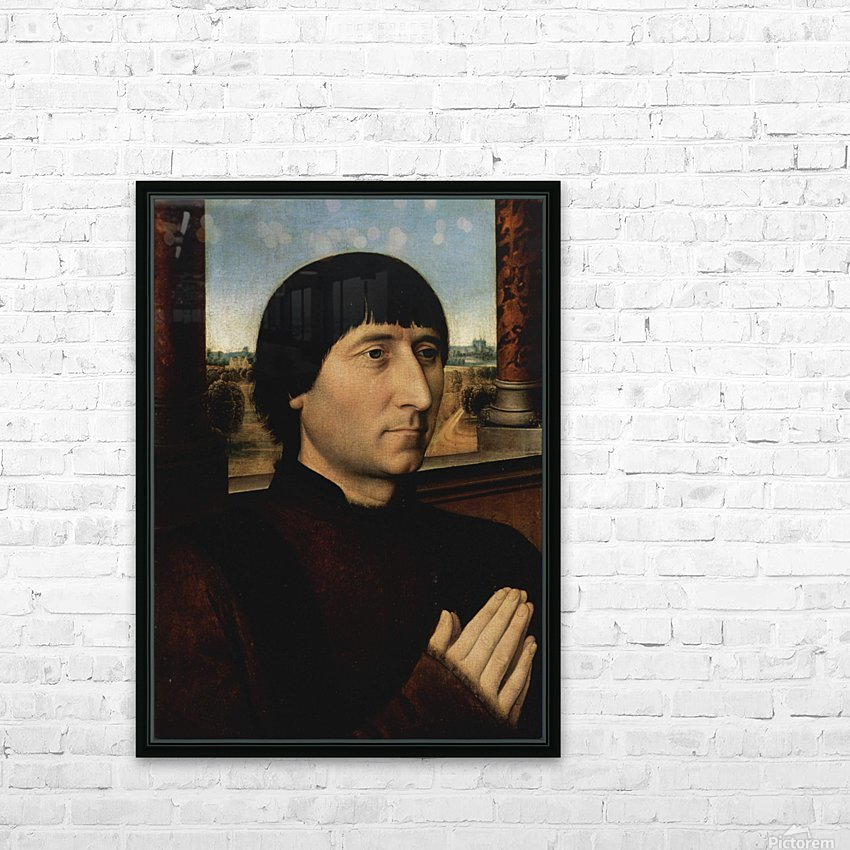 Portrait of Willem Moreel HD Sublimation Metal print with Decorating Float Frame (BOX)