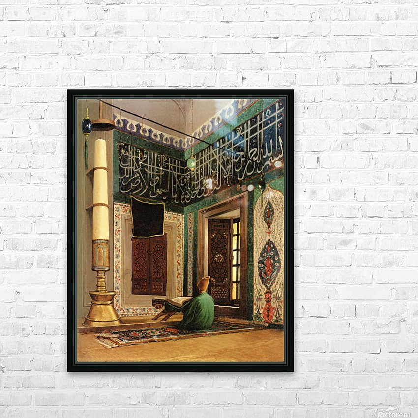 Atik Valide Mosque, Uskudar HD Sublimation Metal print with Decorating Float Frame (BOX)