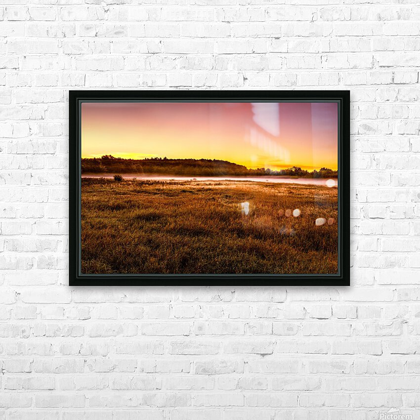 Simply September HD Sublimation Metal print with Decorating Float Frame (BOX)