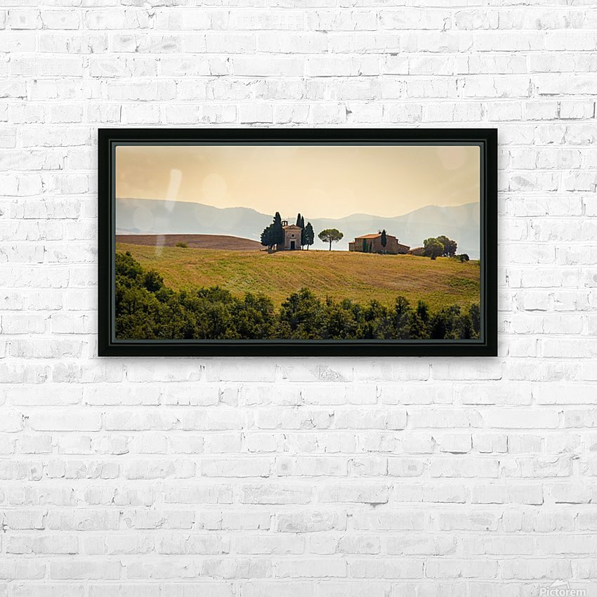small church in tuscany HD Sublimation Metal print with Decorating Float Frame (BOX)