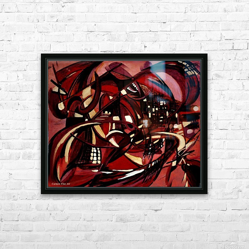 Intimate Still Life with Incidental Intensity HD Sublimation Metal print with Decorating Float Frame (BOX)