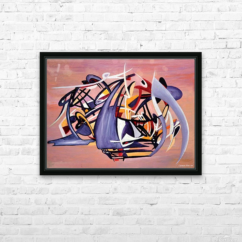 Nun Desiring the Artist HD Sublimation Metal print with Decorating Float Frame (BOX)