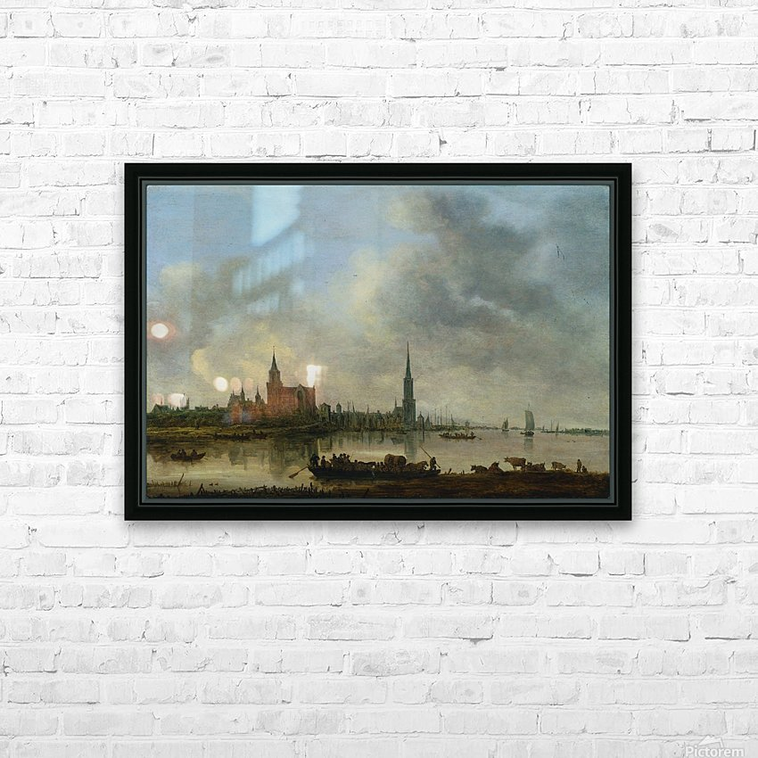 Blick auf Emmerich HD Sublimation Metal print with Decorating Float Frame (BOX)