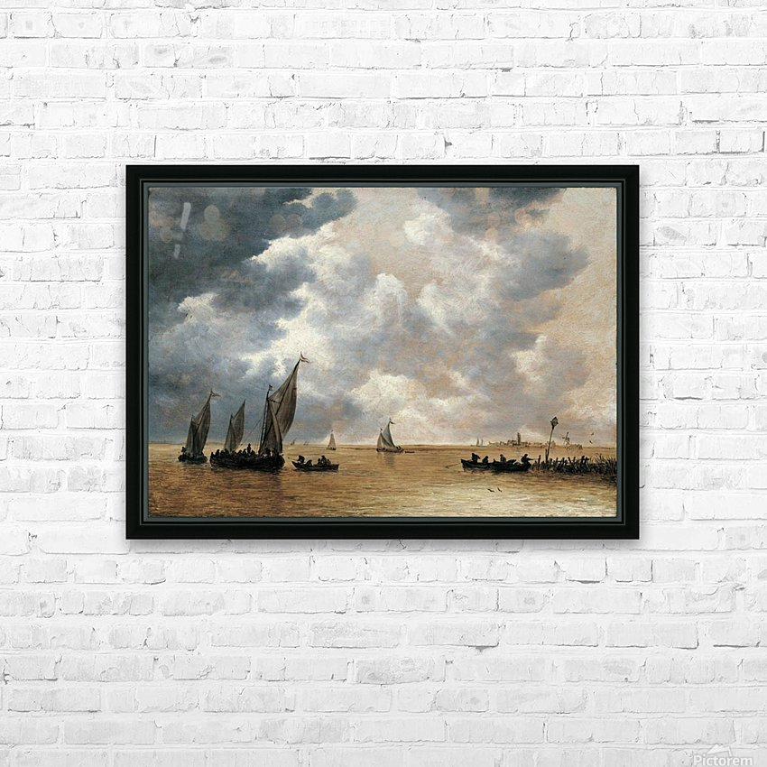 An Estuary Scene HD Sublimation Metal print with Decorating Float Frame (BOX)