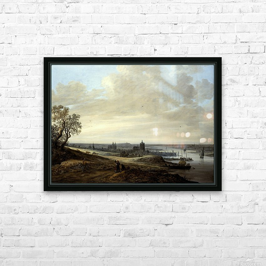 Panorama Landscape with a View of Arnhem HD Sublimation Metal print with Decorating Float Frame (BOX)