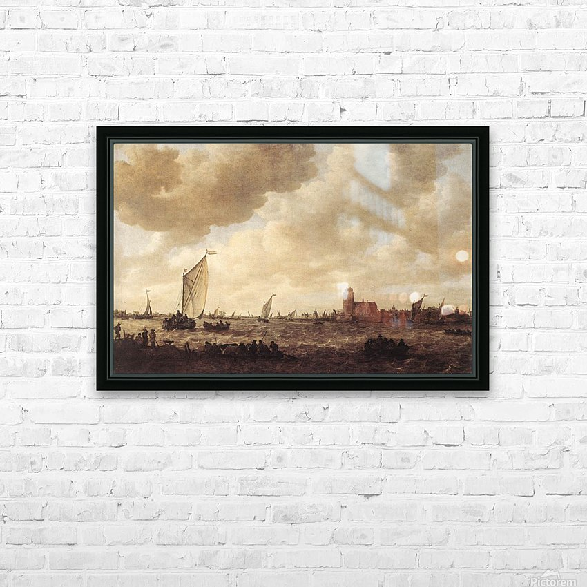 View of Dordrecht HD Sublimation Metal print with Decorating Float Frame (BOX)