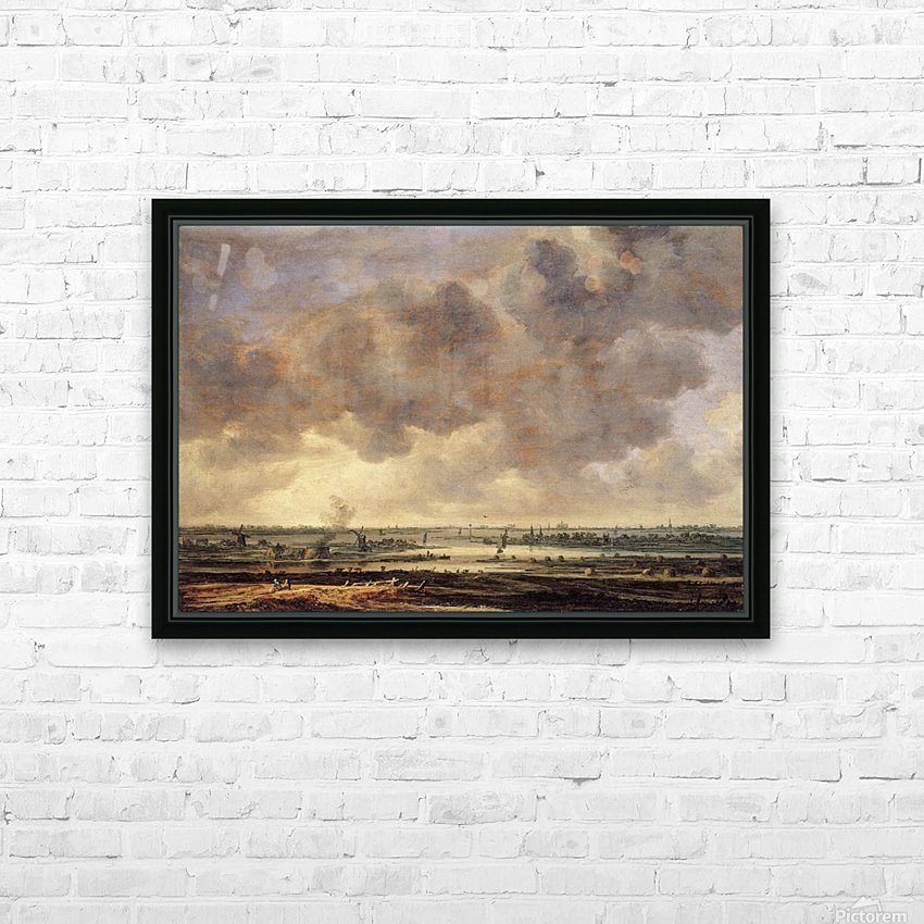 View of the Haarlemmermeer HD Sublimation Metal print with Decorating Float Frame (BOX)