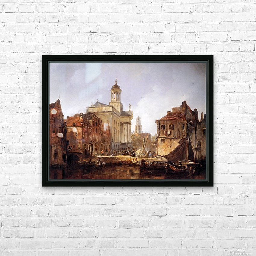 View On Utrecht Sun HD Sublimation Metal print with Decorating Float Frame (BOX)