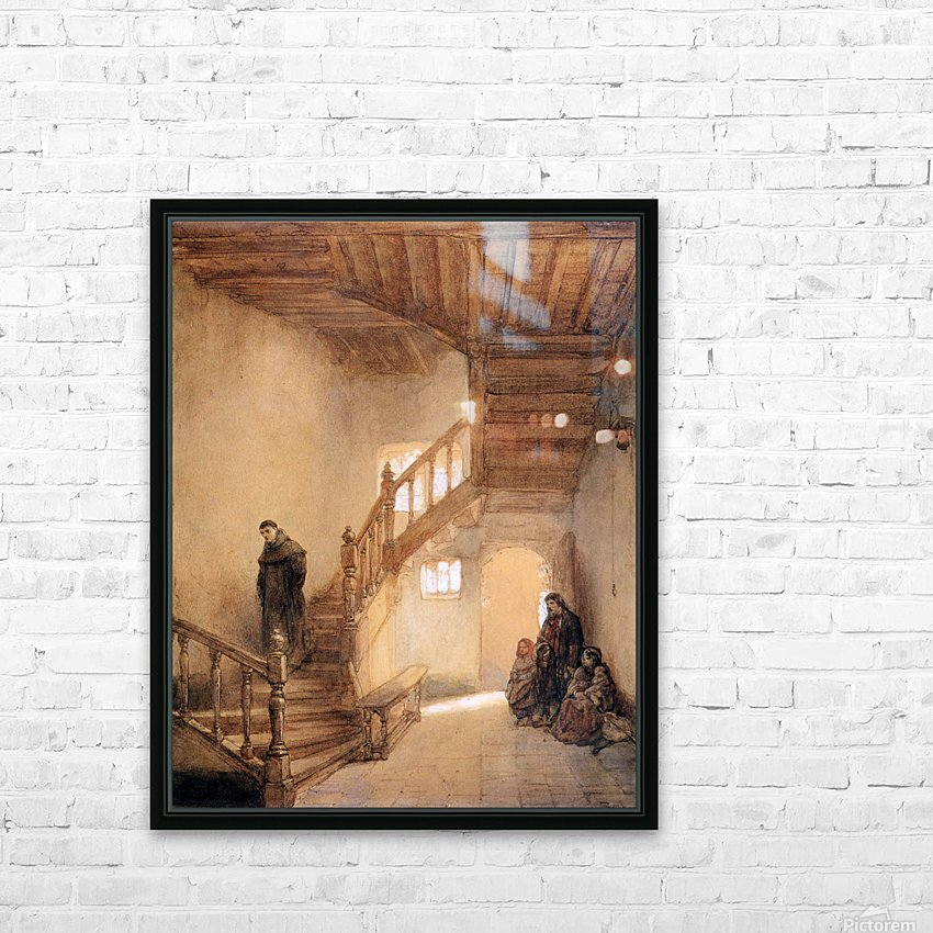 Cloister In Boxmeer Sun HD Sublimation Metal print with Decorating Float Frame (BOX)