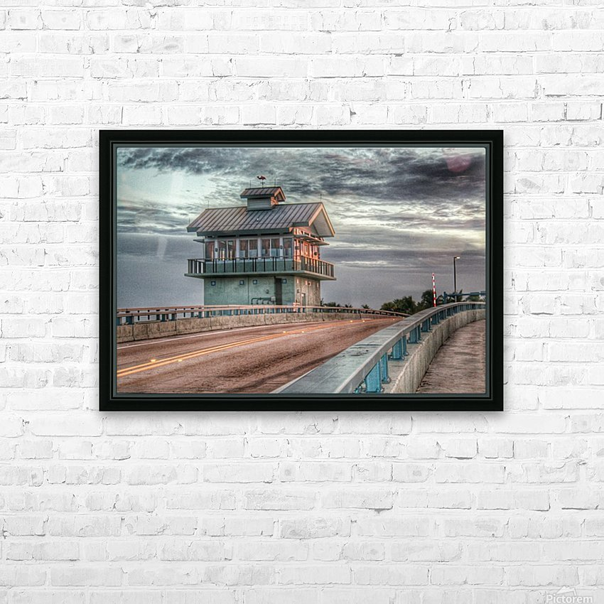 Island Life - Gatehouse HD Sublimation Metal print with Decorating Float Frame (BOX)