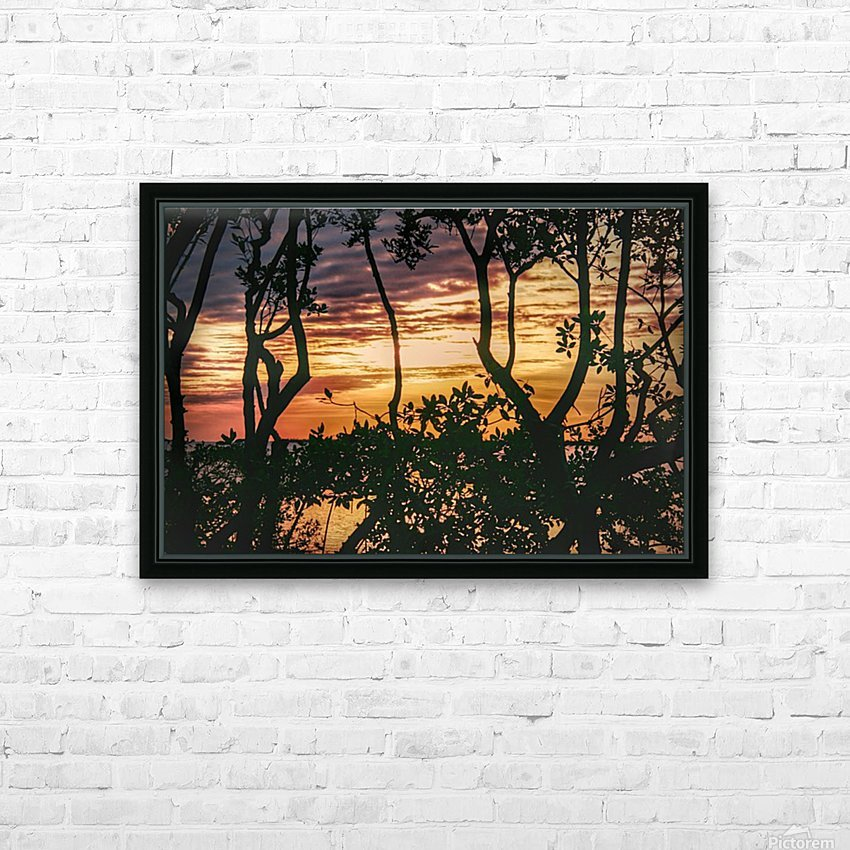 Sunset Collection - 03 HD Sublimation Metal print with Decorating Float Frame (BOX)