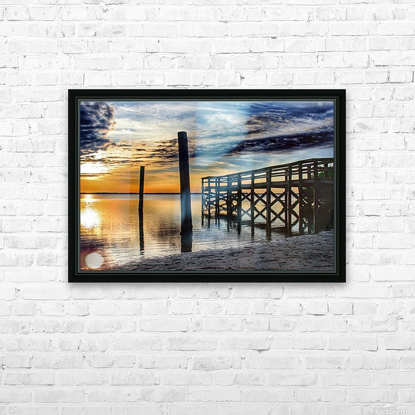 Serenity Collection - 02 HD Sublimation Metal print with Decorating Float Frame (BOX)
