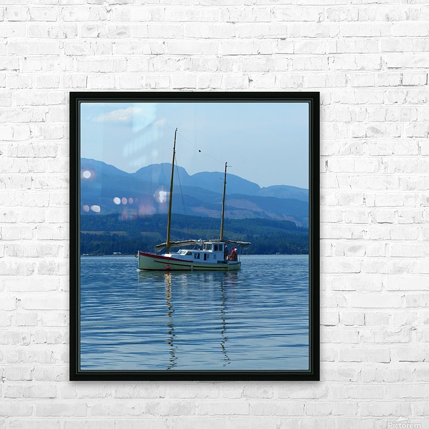 A Perfect Summer Day HD Sublimation Metal print with Decorating Float Frame (BOX)