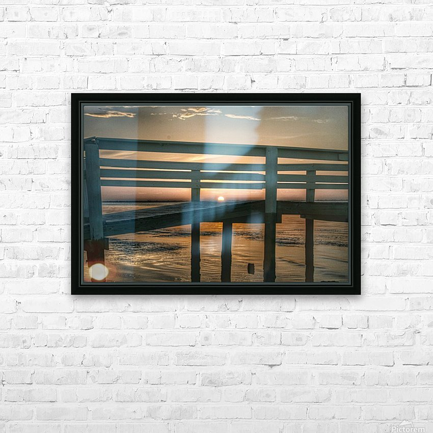 Sunset Collection - 04 HD Sublimation Metal print with Decorating Float Frame (BOX)