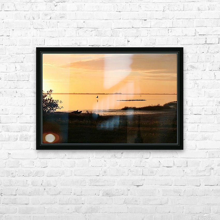Island Sound - 2 HD Sublimation Metal print with Decorating Float Frame (BOX)
