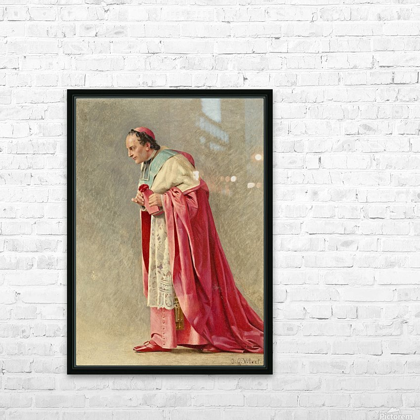 The cardinal HD Sublimation Metal print with Decorating Float Frame (BOX)