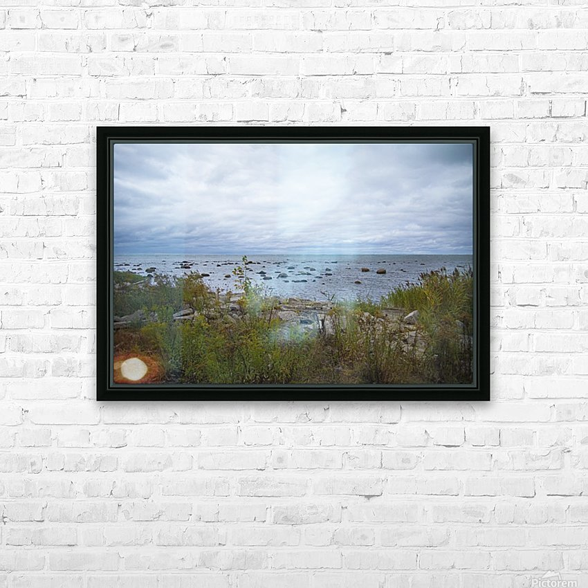 Kettle Point HD Sublimation Metal print with Decorating Float Frame (BOX)