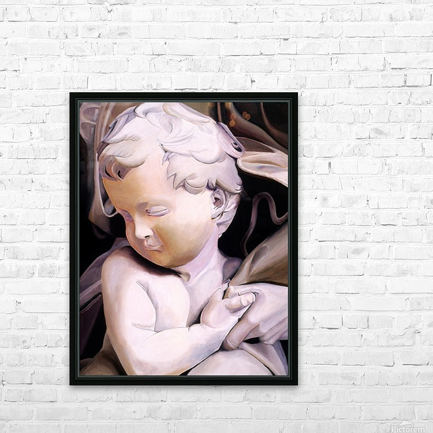 THE CHILD HD Sublimation Metal print with Decorating Float Frame (BOX)