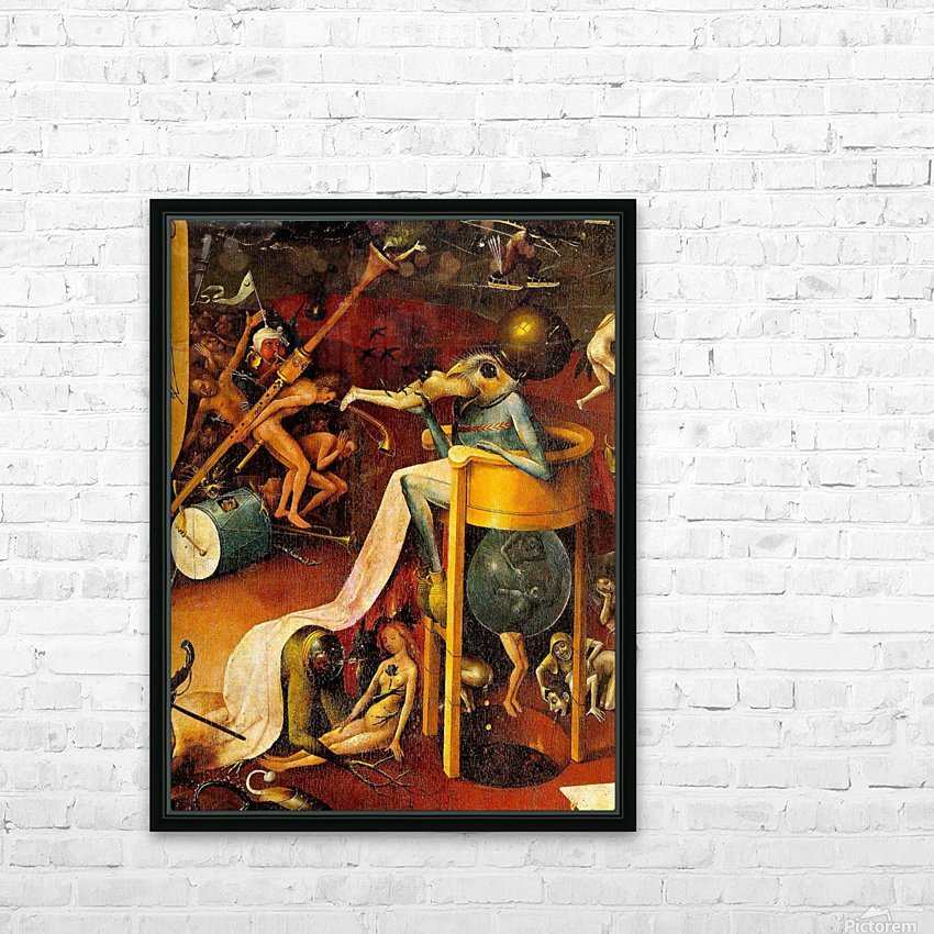 Bird-Headed Monster HD Sublimation Metal print with Decorating Float Frame (BOX)