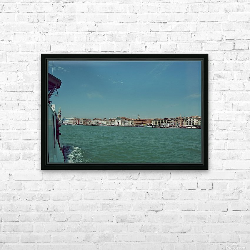 Venice on the see HD Sublimation Metal print with Decorating Float Frame (BOX)