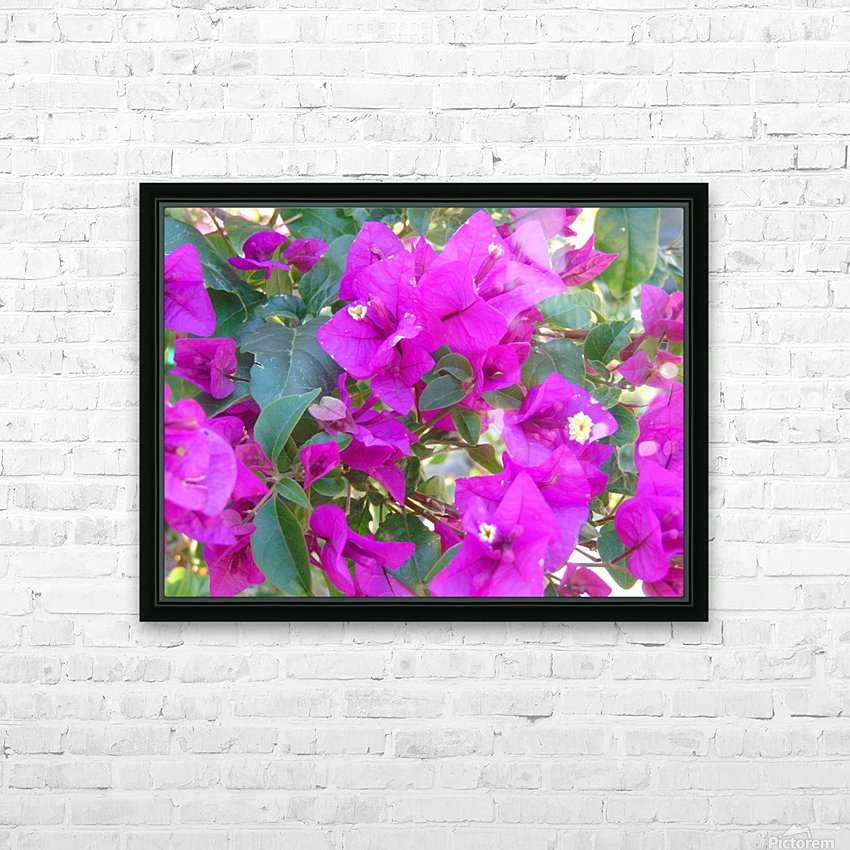 Purple Fusion HD Sublimation Metal print with Decorating Float Frame (BOX)