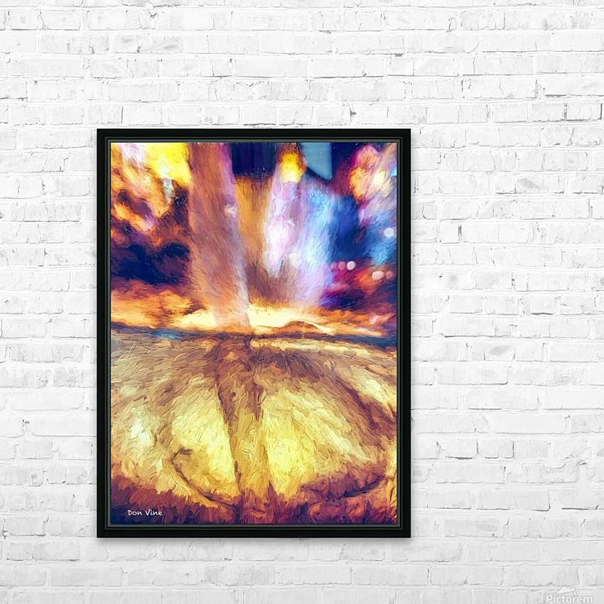 Water Fire and Ice _140826_19058 HXSYV HD Sublimation Metal print with Decorating Float Frame (BOX)
