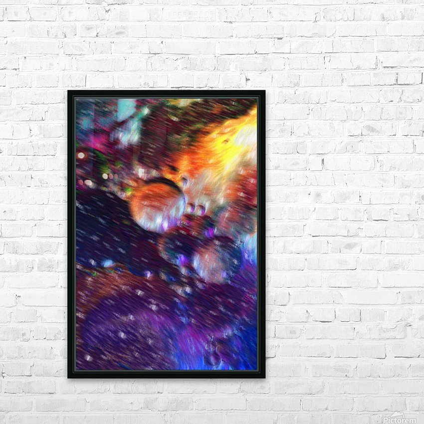Color Flow F HD Sublimation Metal print with Decorating Float Frame (BOX)