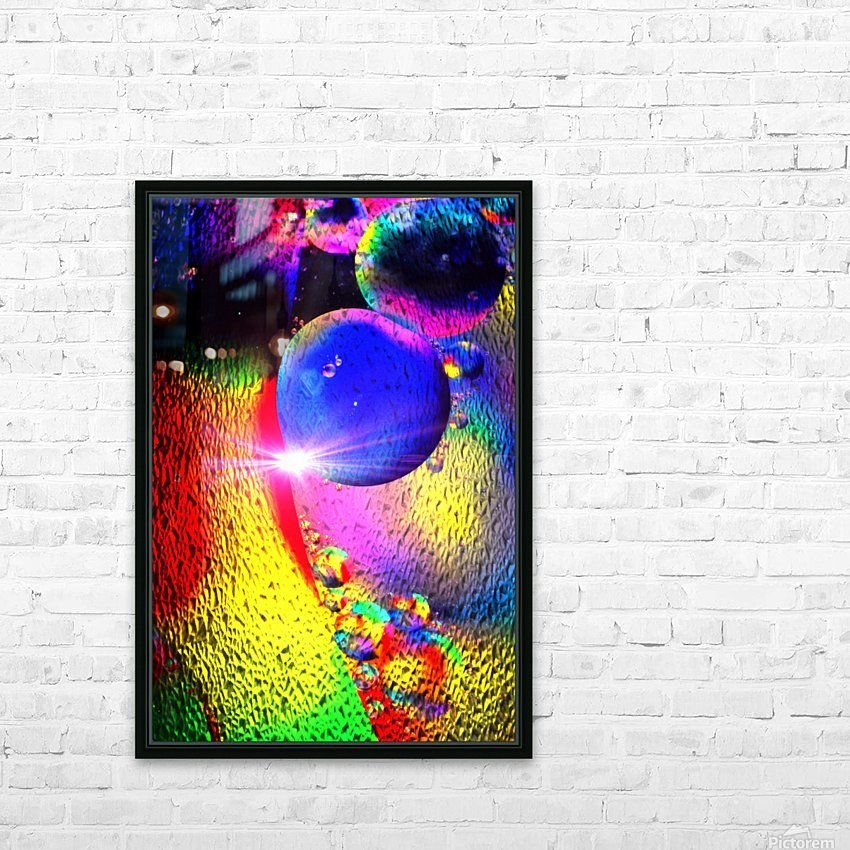 Star Bright HD Sublimation Metal print with Decorating Float Frame (BOX)