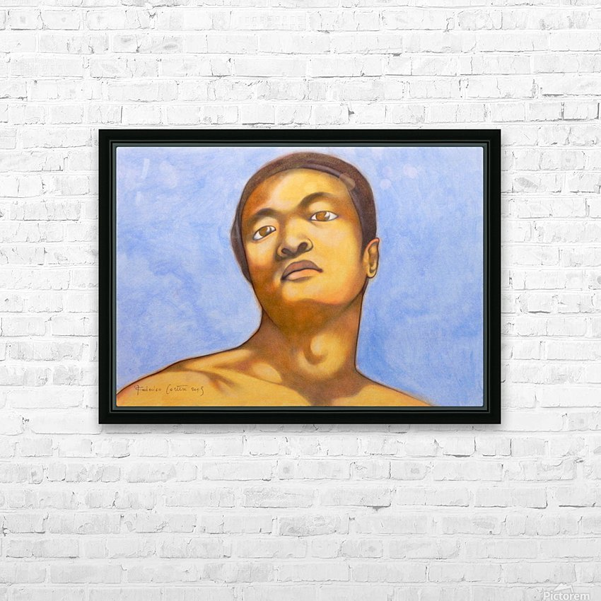 xin in michelangelo mood HD Sublimation Metal print with Decorating Float Frame (BOX)