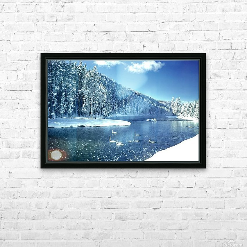 landscape_2_1268 HD Sublimation Metal print with Decorating Float Frame (BOX)