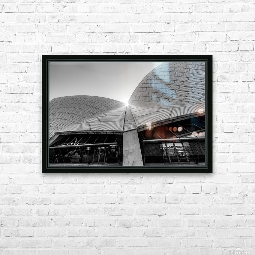 Curves at the Opera House HD Sublimation Metal print with Decorating Float Frame (BOX)