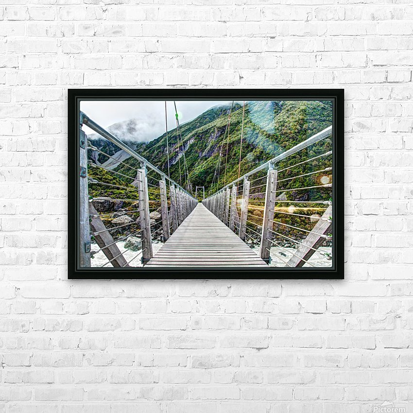 Bridge_to_Nowhere HD Sublimation Metal print with Decorating Float Frame (BOX)