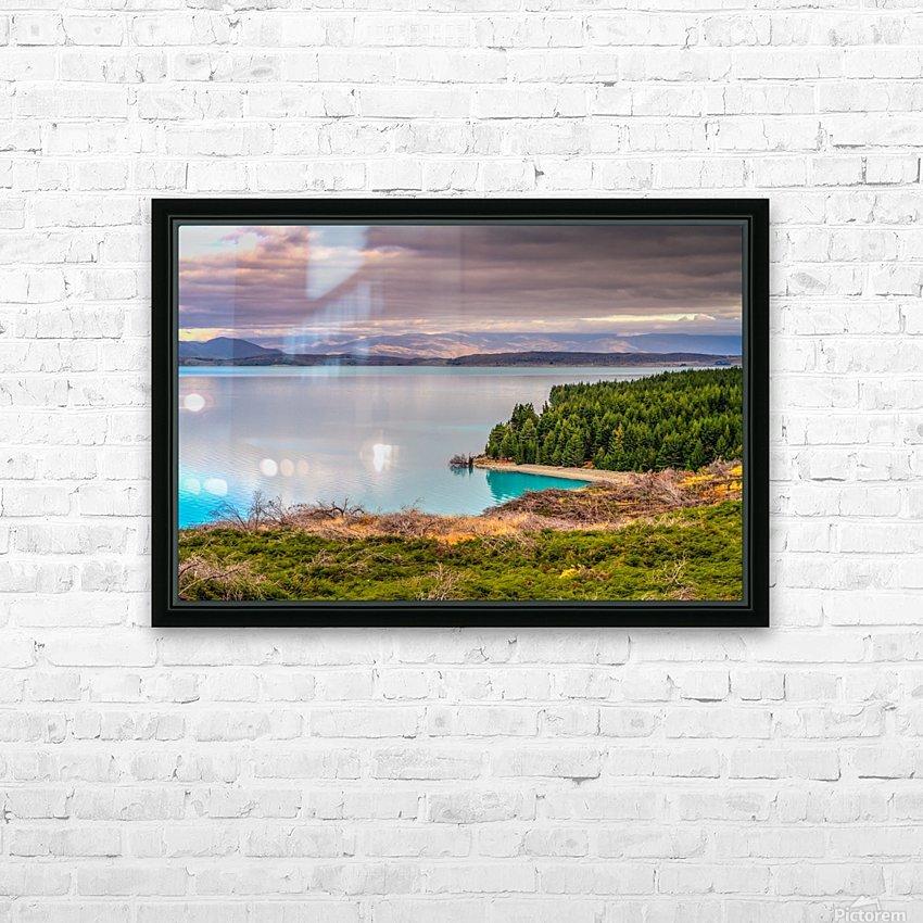 Lake_pukaki HD Sublimation Metal print with Decorating Float Frame (BOX)