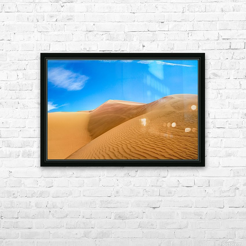 Windswept HD Sublimation Metal print with Decorating Float Frame (BOX)