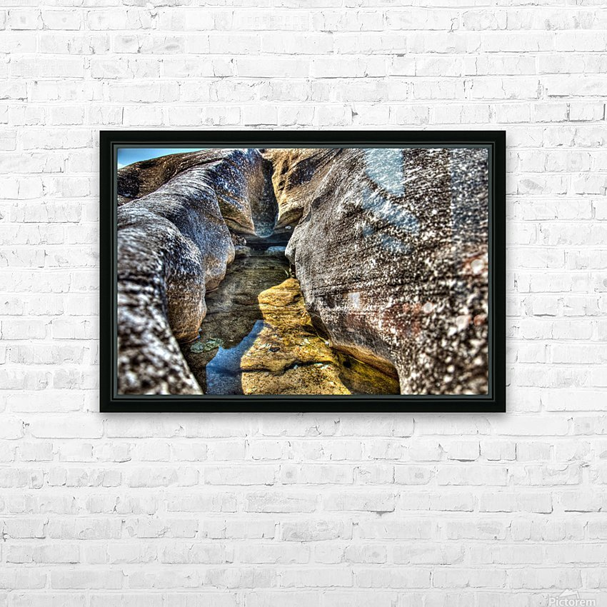 Gods Own Watering Hole HD Sublimation Metal print with Decorating Float Frame (BOX)