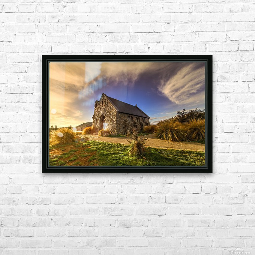 Highlights of Shepherd HD Sublimation Metal print with Decorating Float Frame (BOX)