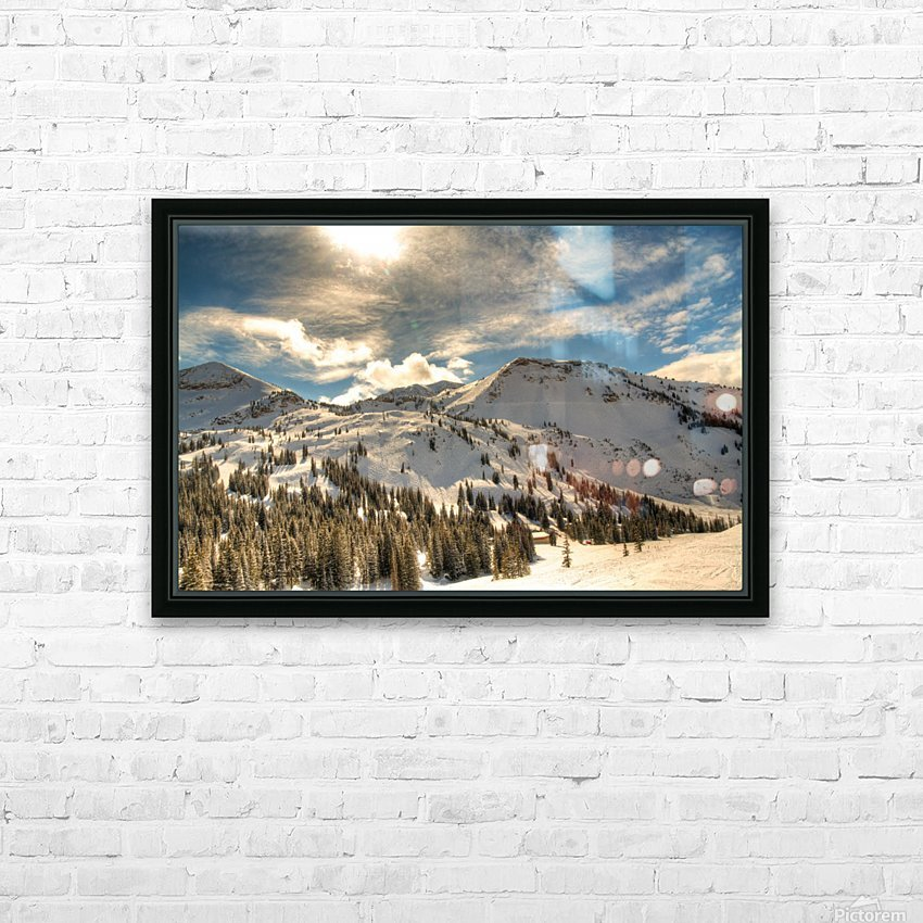 Glowing Alta HD Sublimation Metal print with Decorating Float Frame (BOX)