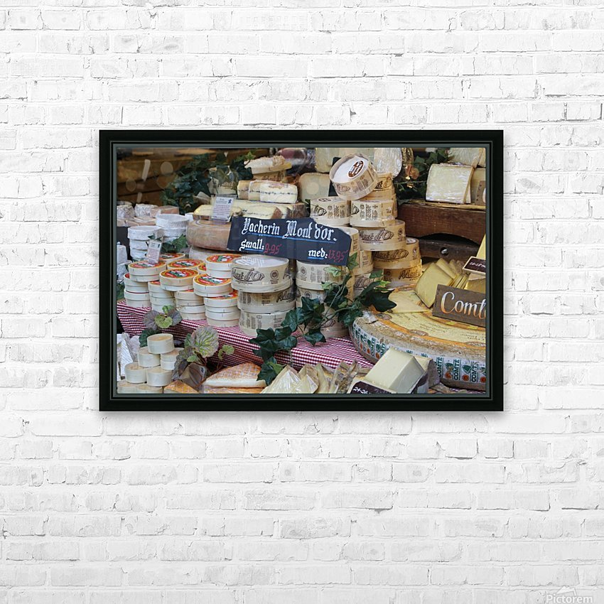 say cheese HD Sublimation Metal print with Decorating Float Frame (BOX)