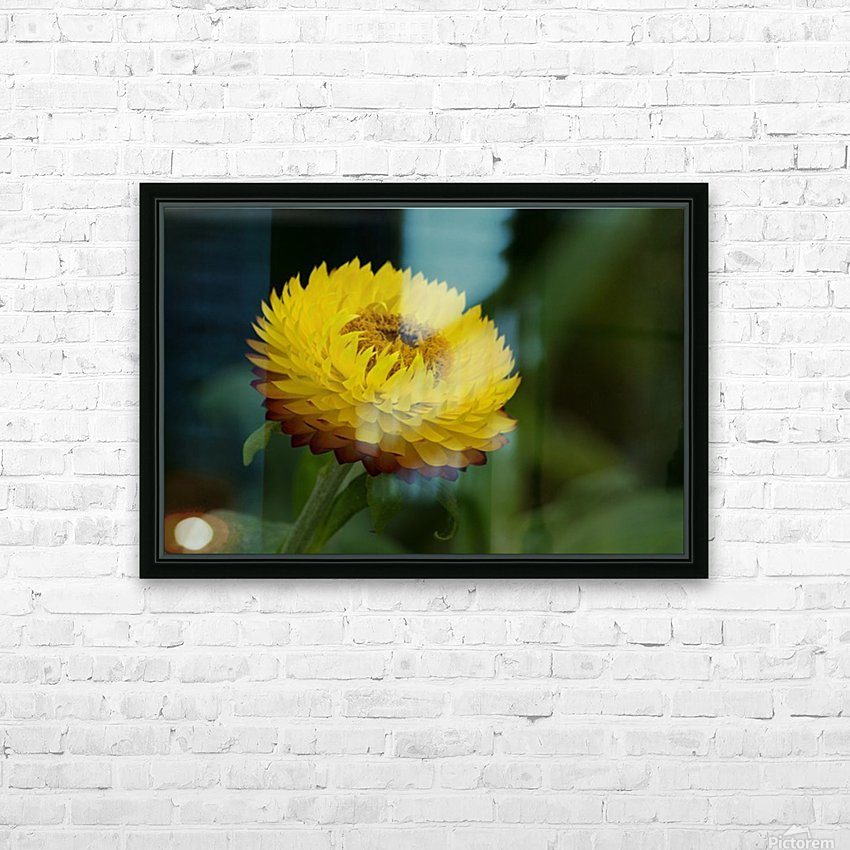 Nature and Flowers 7 HD Sublimation Metal print with Decorating Float Frame (BOX)