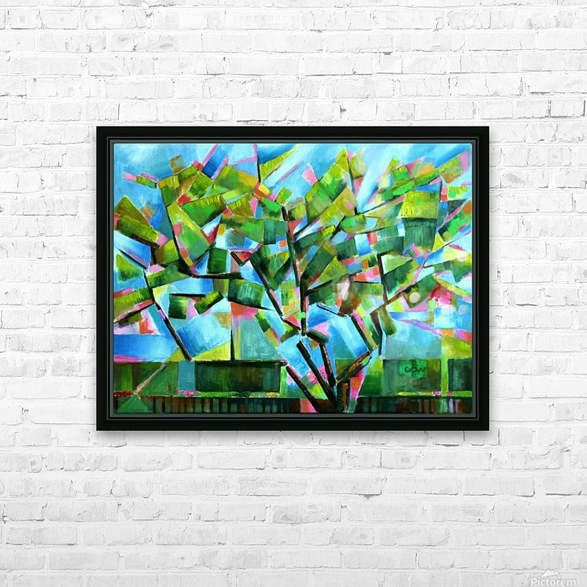 Cubistic Spring at Voorburg - 05-05-16 HD Sublimation Metal print with Decorating Float Frame (BOX)