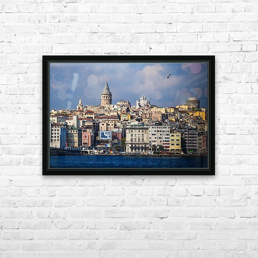 Galata, Istanbul HD Sublimation Metal print with Decorating Float Frame (BOX)