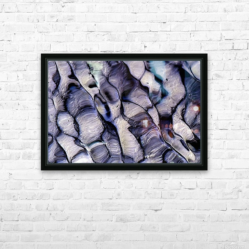 Undulations HD Sublimation Metal print with Decorating Float Frame (BOX)