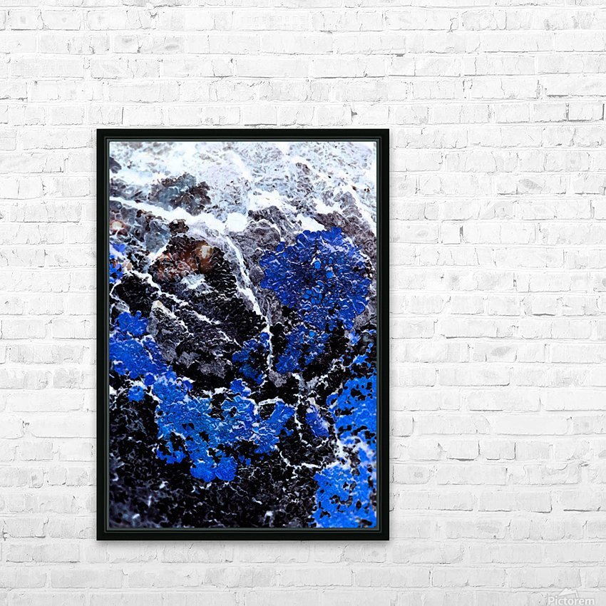 Blue Cliff HD Sublimation Metal print with Decorating Float Frame (BOX)