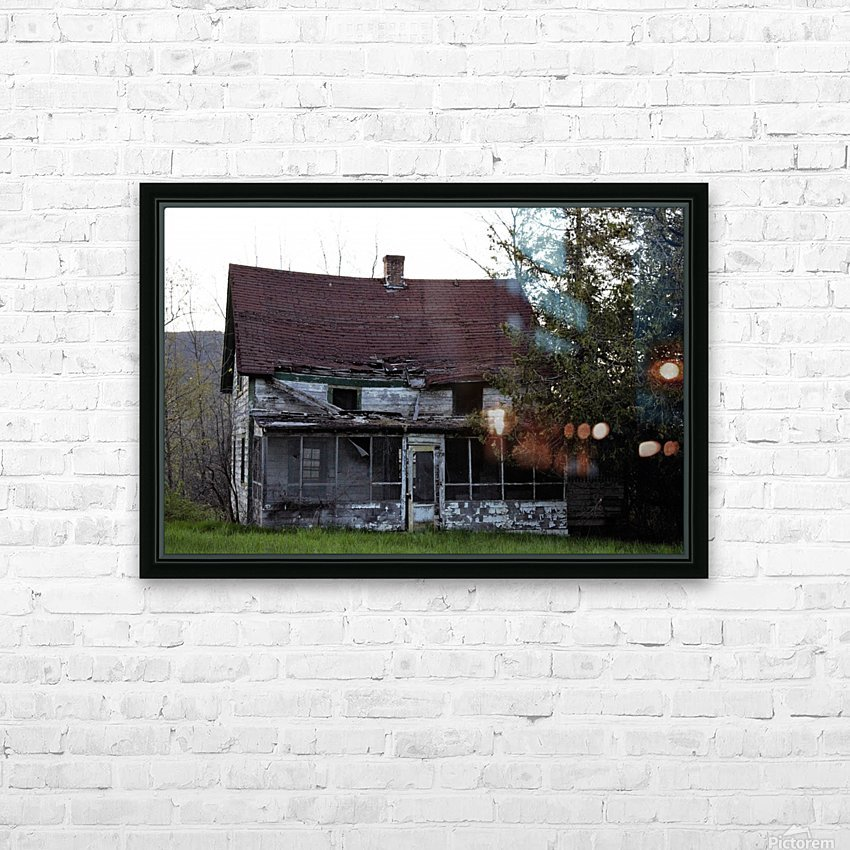 Rural Decay II HD Sublimation Metal print with Decorating Float Frame (BOX)