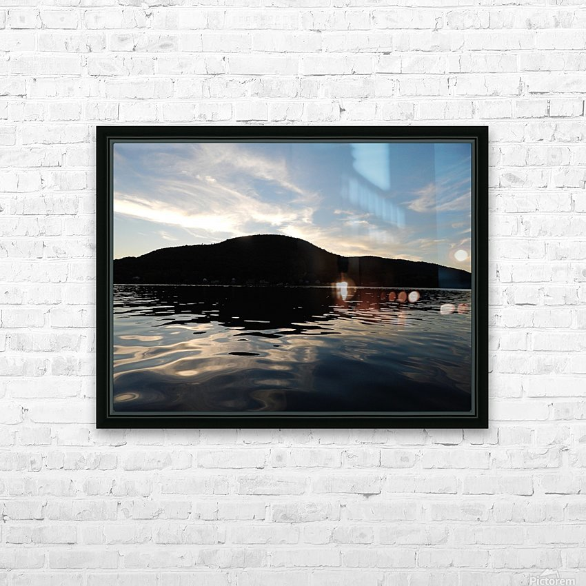 Ancient Hills, Open Water  HD Sublimation Metal print with Decorating Float Frame (BOX)